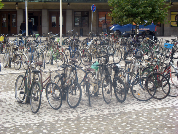 Градец Кралове - велосипедный город
