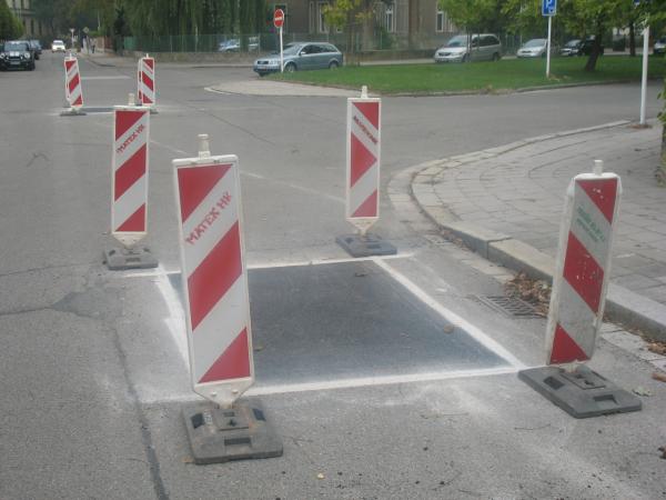 Ямочный ремонт дорог в Чехии