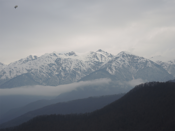 Сочинские горы на Горной Карусели