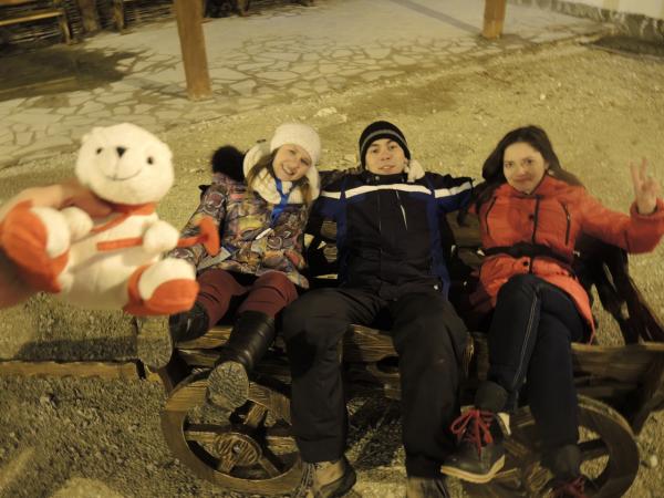 Медведи в Сочинских горах рядом с Роза Хутор