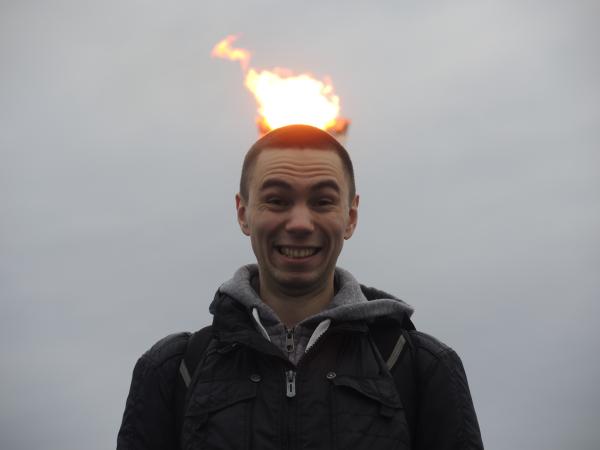 Олимпийский факел в Сочи-2014