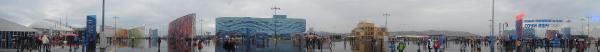 Панорама олимпийского парка Сочи-2014