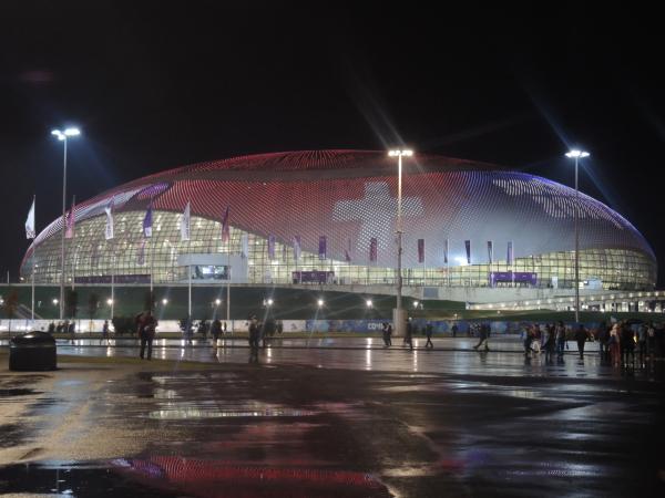 """Хоккейный стадион """"Большой"""" в Олимпийском парке Сочи-2014"""