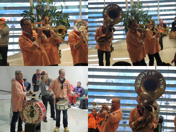 Голландский национальный духовой оркестр на Олимпиаде в Сочи-2014