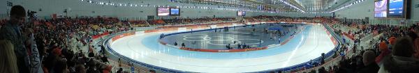 Панорама стадиона Адлер-арена