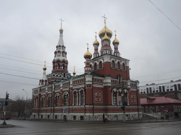 Церковь Вознесения Господня в Перми
