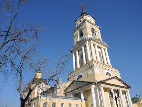 Спасо-Преображенский собор в Перми. Пермская художественная галерея