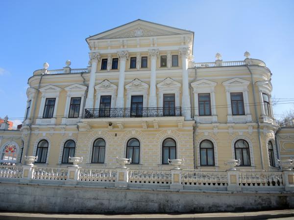Дом пароходчика Мешкова в Перми