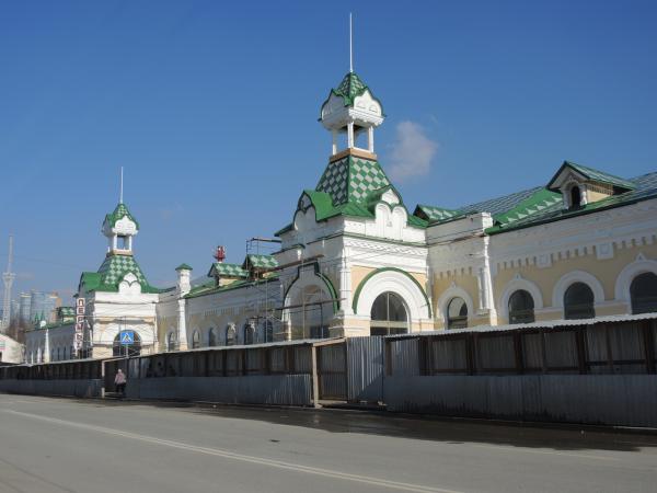 ЖД вокзал Пермь 1