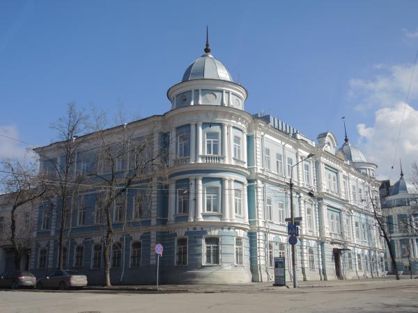 Управление ФСБ Перми, крестьянский поземельный банк, дом Тупицыных в Перми