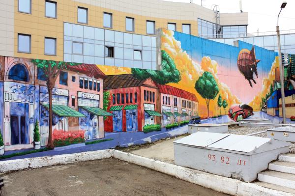 Стрит-арт и граффити в Перми