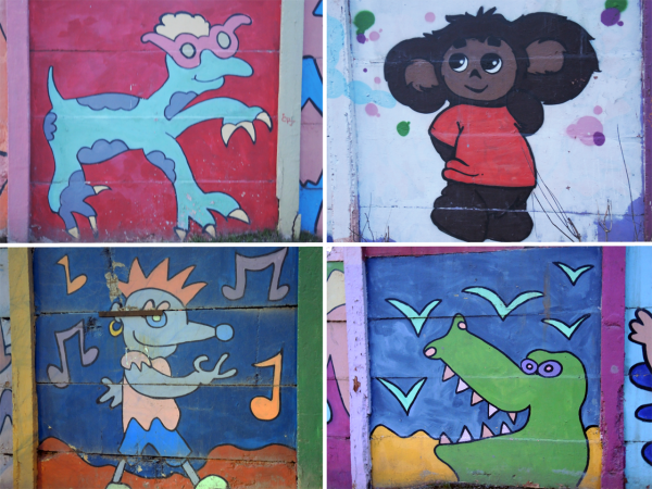 Стрит-арт и граффити на улицах Перми