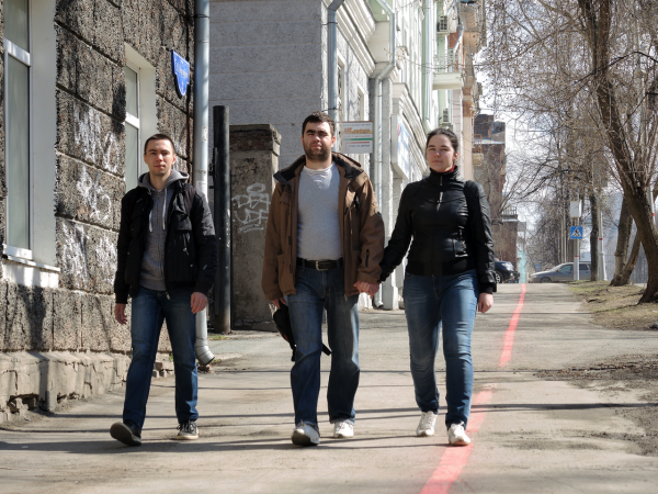 Красная линия в Перми