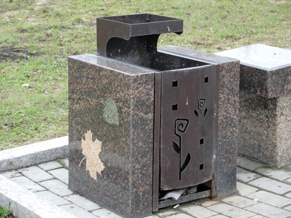 Необычные красивые мусорки в Перми