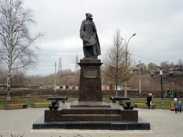 Памятник Татищеву - основателю Перми