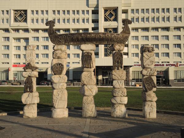 Памятник реке Каме в Перми