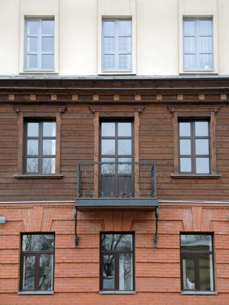 Интересный и необычный дом в Ижевске