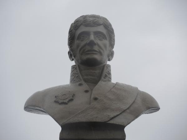 Памятник Дерябину - основателю ижевского оружейного завода