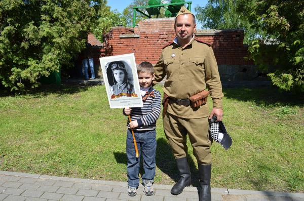 Бессмертный полк в Брестской крепости