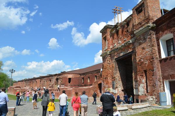 Тереспольские (западные) ворота Брестской крепости