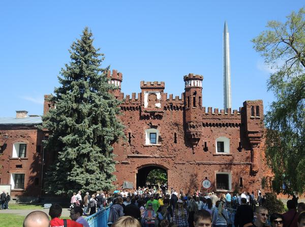 Холмские (южные) ворота Брестской крепости