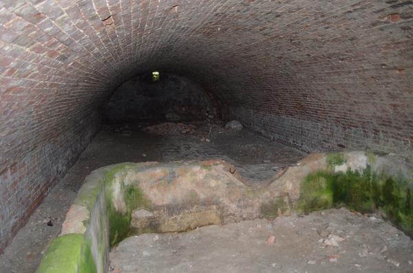 Подвалы казарм в Цитадели Брестской крепости