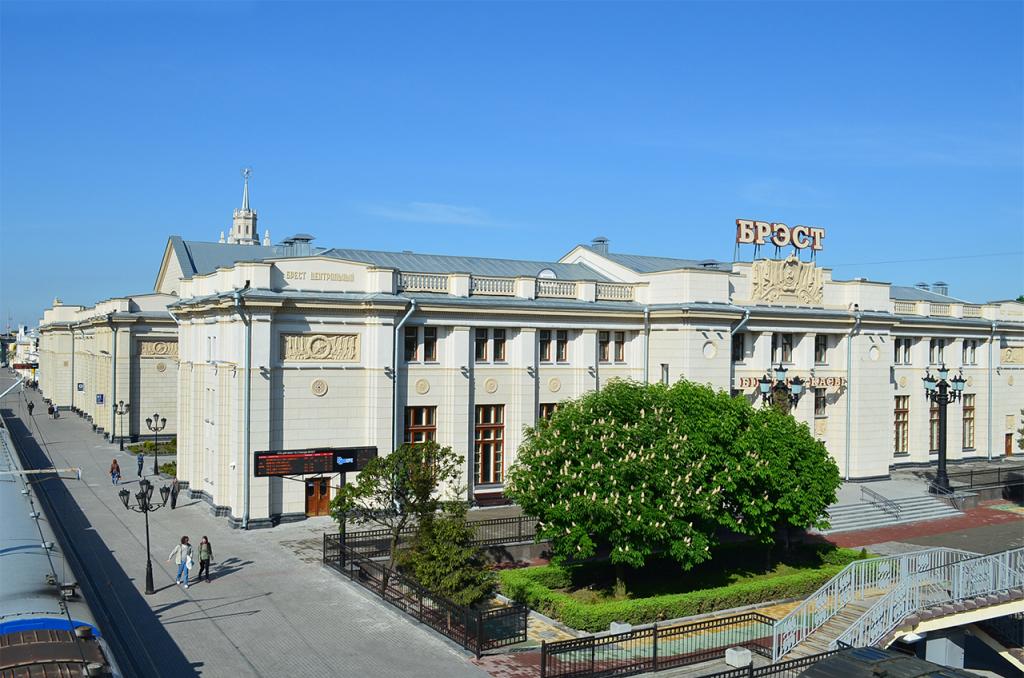 Новый железнодорожный вокзал в Бресте