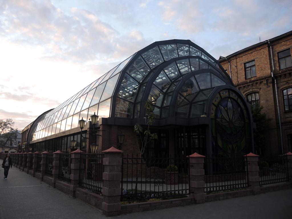Зимний сад в Бресте