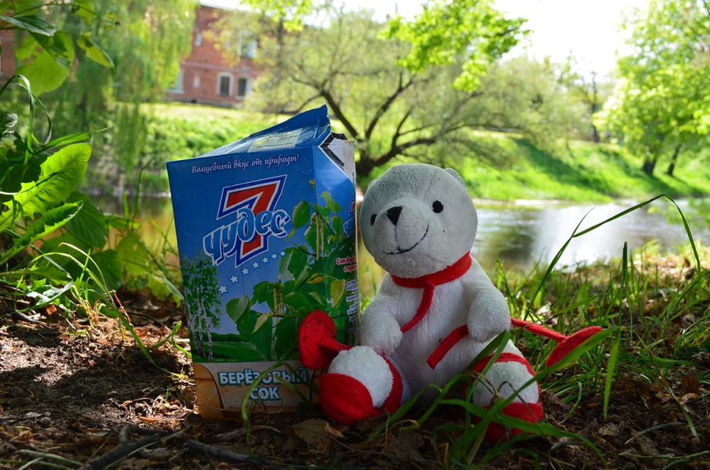 Белорусский березовый сок 7 чудес